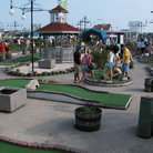 Picture - Mini golf attraction at Slide and Ride in Ocean City, MD.