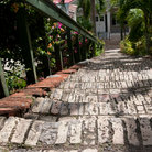 "Picture - The 18th Century ""99 Steps"" in Charlotte Amalie."