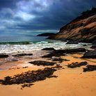 Picture - Coastline of Acadia National Park near Bar Harbor.