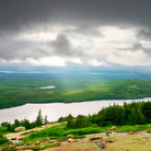 Picture - Landscape of Acadia National Park.