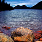 Picture - Jordan Pond in Acadia National Park.