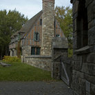 Picture - Carriage House on Carriage Road in Acadia National Park.
