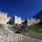 Picture - Fortifications of Acrocorinth.
