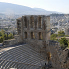 Picture - Herod Atticus Odeum (theatre) near the Acropolis, Athens.