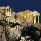 Picture - Acropolis at night, Athens.
