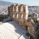 Picture - Acropolis Theater in Athens.
