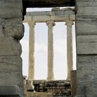 Picture - Colomns of Erechtheion at the Acropolis in Athens.