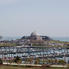 Picture - Adler Planetarium and Harbor, Chicago.