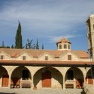 Picture - View of the Agia Napa Monastery.