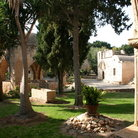 Picture - Grounds of the Agia Napa Monastery.