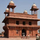 Picture - The ancient city of Fatehpur Sikri.