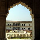Picture - View from inside the Agra Fort, Agra.