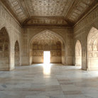 Picture - Interior of the Fort in Agra.