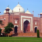 Picture - Mosque at Agra.