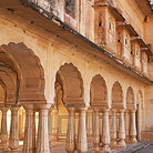 Picture - Muslim Palace in Agra.