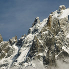 Picture - View of Mont Blanc mountain range from Aiguille Du Midi.