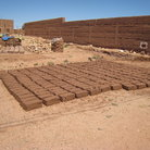 Picture - Mud brick fabric at Ait-Benhaddou.