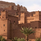 Picture - Detail of Kasbah Ait-Benhaddou.