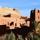 Picture - View of Benhaddou.