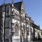 Picture - Old abbey at Aix Les Bains.