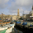 Picture - View of Akko seen from the harbor.
