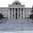 Picture - Alabama state capitol from 1850s, Montgomery.