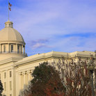 Picture - Dome of State Capitol, Montgomery.
