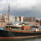 Picture - Boat in Liverpool, Albert Dock.