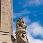 Picture - Gargoyle at Albert Clock in Belfast.