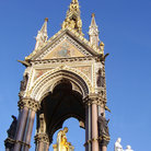 Picture - The Albert Memorial in London.