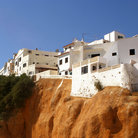 Picture - Cliff side homes in Albufeira.