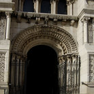 Picture - The Entrance to the Cathedral Almudena in Madrid.