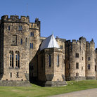 Picture - Alnwick castle in Northumberland.