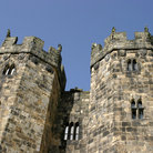 Picture - Turrets of Alnwick Castle.