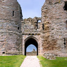Picture - An entrance to Dunstanburgh Castle.