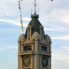 Picture - Aloha Tower, a popular lighthouse landmark located in Honolulu.