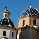 Picture - Church Virgen del Consuelo in Altea.