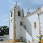 Picture - Bell tower of Alvor Church near Portimao.
