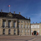Picture - The Amalienborg Palace located in Copenhagen.