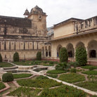 Picture - Garden of the Amber Fort, Jaipur.