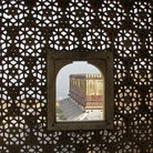 Picture - View of the Amber Fort through window in Jaipur.