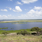 Picture - View over Lake Amboselie.