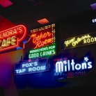 Picture - Neon signs at the American Jazz Museum in Kansas City.