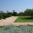 Picture - Grounds of Amon Carter Museum, Fort Worth, Texas.