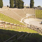 Picture - Amphitheatre at Pompeii.
