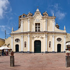 Picture - The Piazza Armando Diaz on Anacapri.