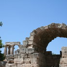 Picture - Arch at ancient Corinth.