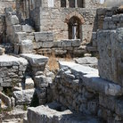 Picture - The archeological site of ancient Corinth.