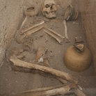 Picture - Human remains at ancient Corinth.