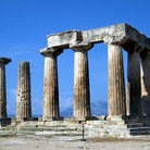 Picture - Temple of Apollo in Corinth.